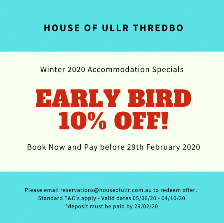 thredbo accommodation specials
